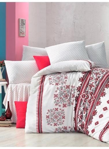Komfort Home Tek Kişilik Polycotton Nevresim Takımı (Mira) Renkli